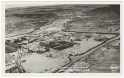 Aerial View of Ganado Mission, Arizona