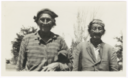 Two Elderly American Indian Men