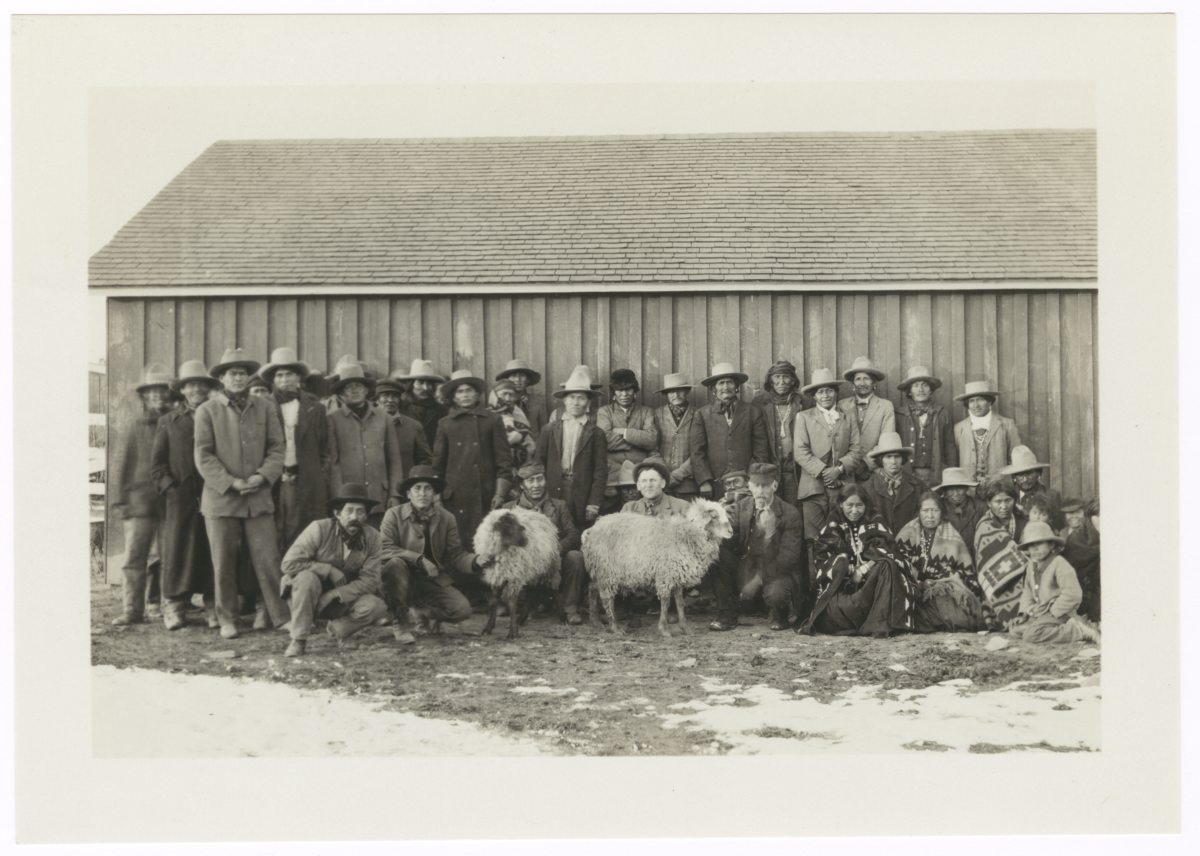 Group of American Indian Farm Workers