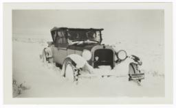 Mission Car in the Snow