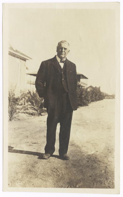 Dr. C.H. Cook, Missionary to the Pima Reservation, Arizona