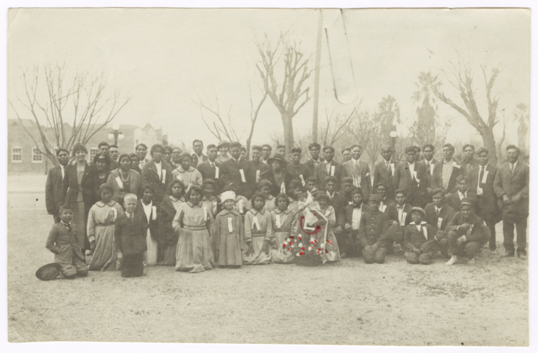 Group Portrait, Pima Indians, Arizona