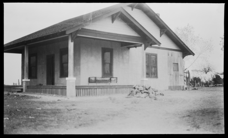 Parsonage of Presbyterian Church, Gila Crossing, Arizona