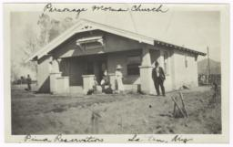 Parsonage, Mormon Church, Santan, Arizona