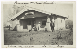 Parsonage, Mormon Church, Santan, Arizona