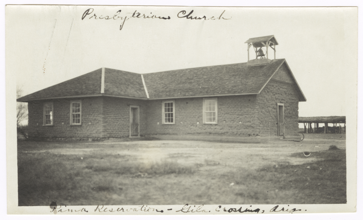 Presbyterian Church Building, Gila Crossing, Arizona