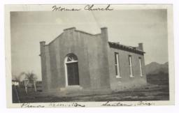 Mormon Church Building, Santan, Arizona