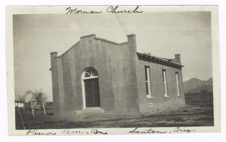 Mormon Church Building, Santan, Arizona