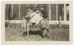 Children of Stewart Lewis: Victor, Floyd and Cecil