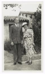 Reverend and Mrs. Edward Derbyshire,  Polacca, Arizona