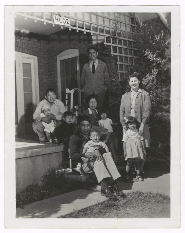 Several Sioux Families from South Dakota
