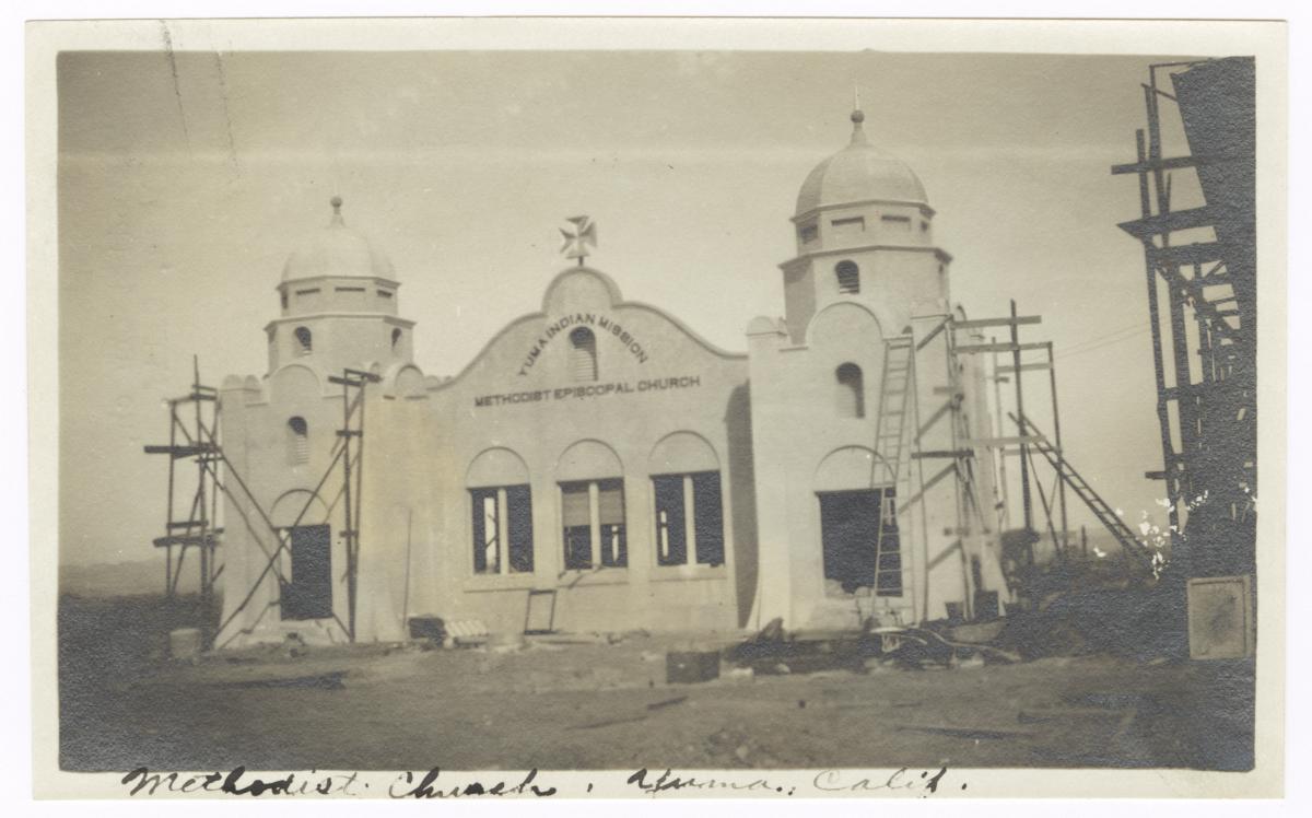 Yuma Indian Mission Methodist Episcopal Church, Yuma, Arizona