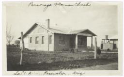 Parsonage, Mormon Church, Salt River Indian Reservation, Arizona