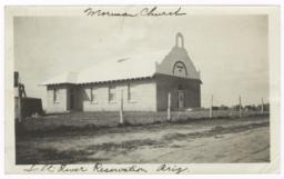 Mormon Church Building, Salt River Indian Reservation, Arizona