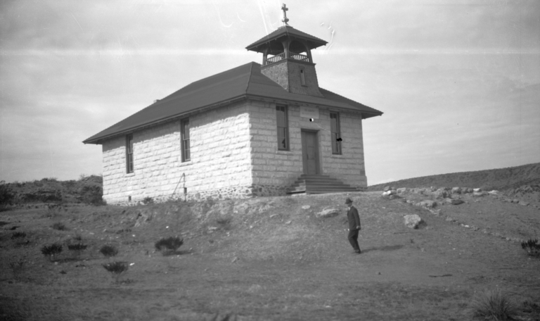 Trinity Luthern Church Building, near Rice, Arizona