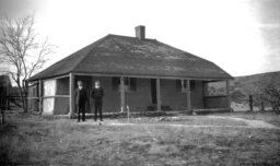 Parsonage of Trinity Lutheran Church Building near Rice, Arizona