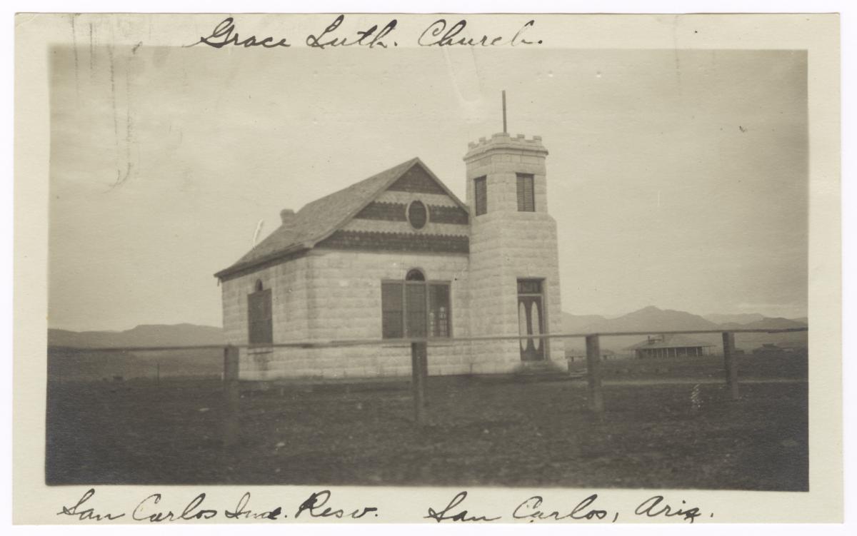 Grace Lutheran Church Building, San Carlos Indian Reservation, Arizona