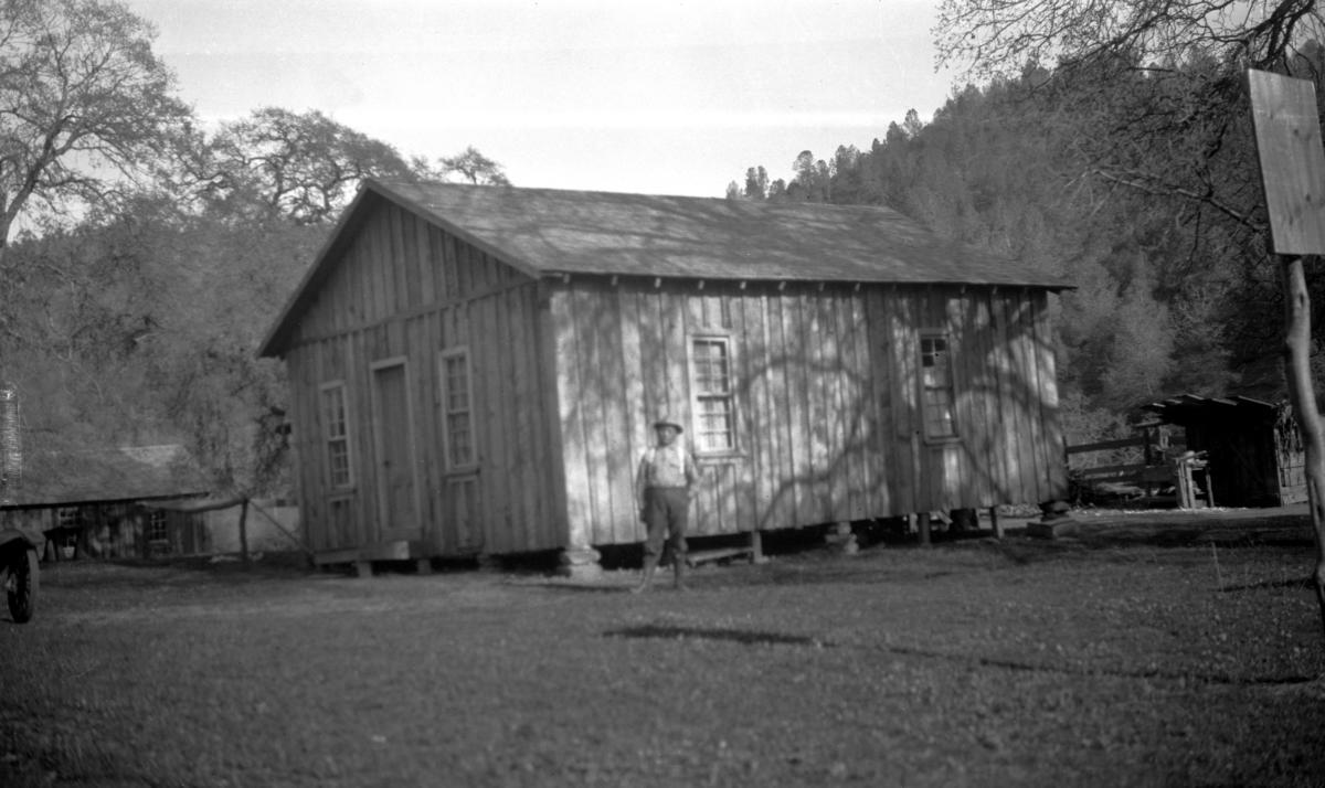 Parsonage of Baptist Indian Mission, Coarsegold, California