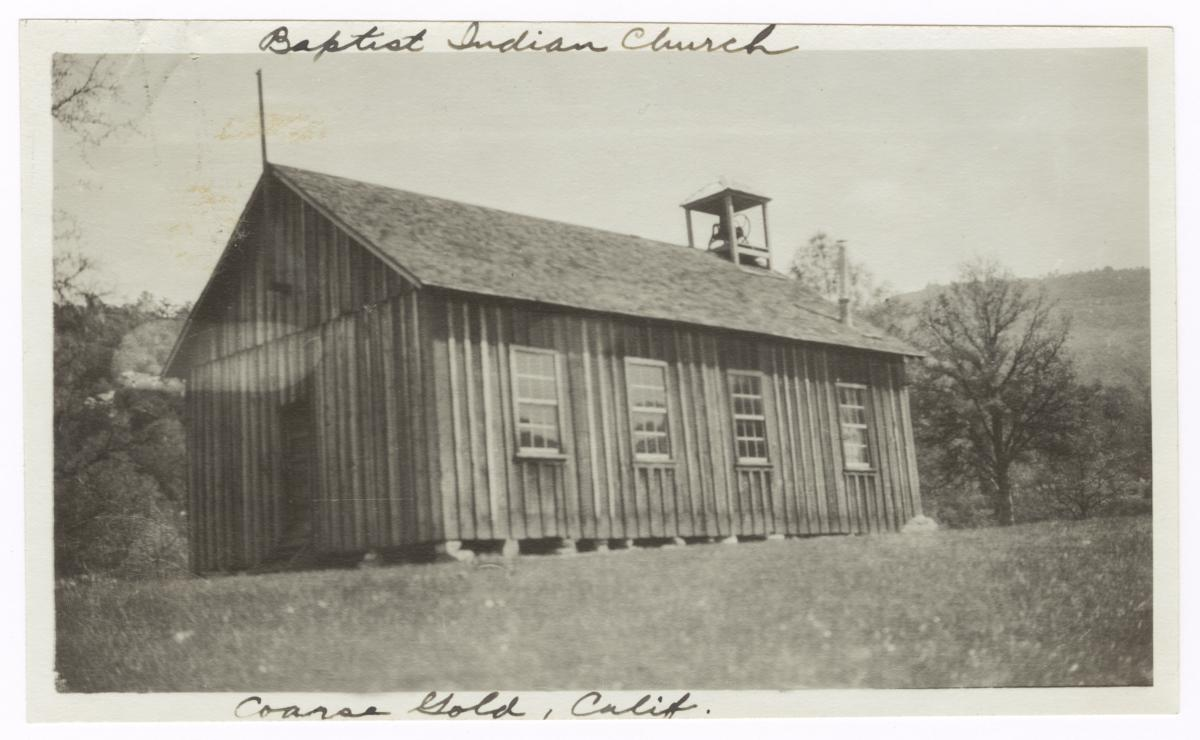 Coarse Gold Baptist Indian Church