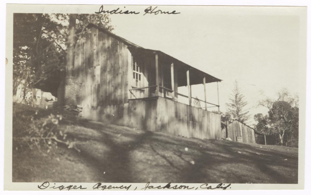 Native American Home, Jackson, California
