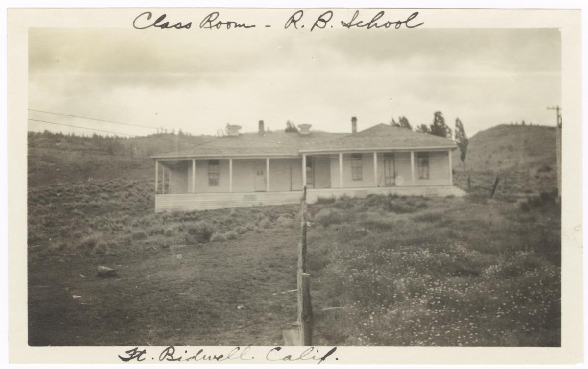 School Building, Fort Bidwell, California