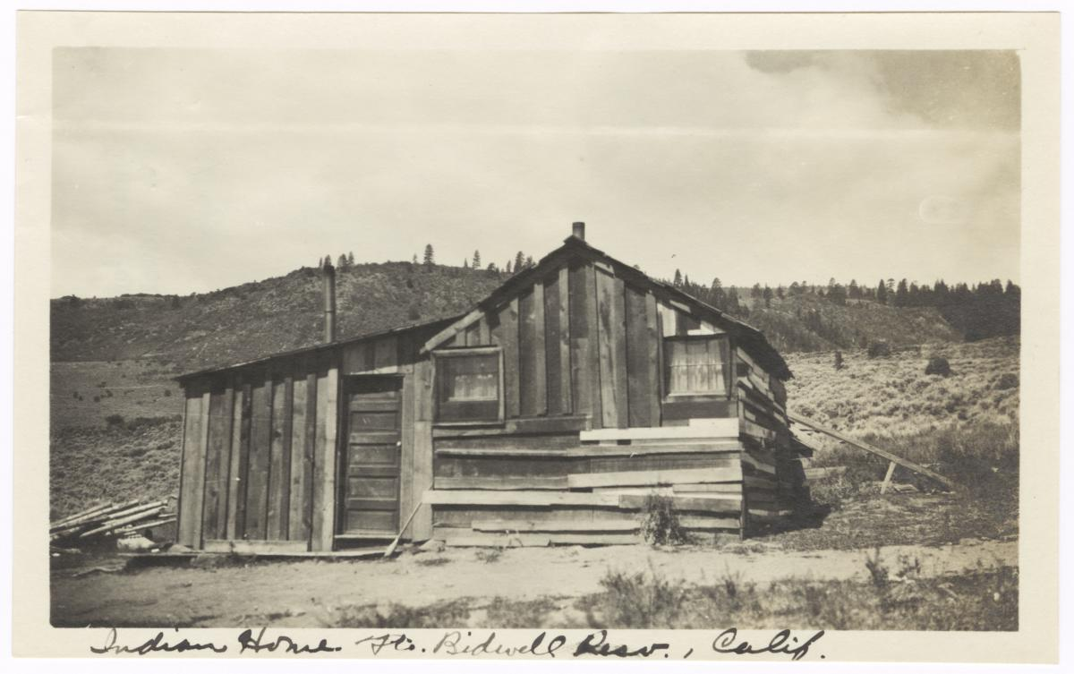 Native American Home, Fort Bidwell Reservation, California