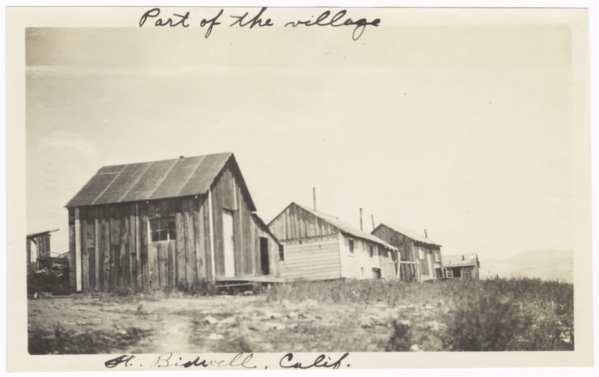 Part of the Village, Fort Bidwell, California