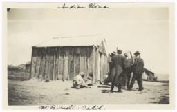 Native American Home, Fort Bidwell, California