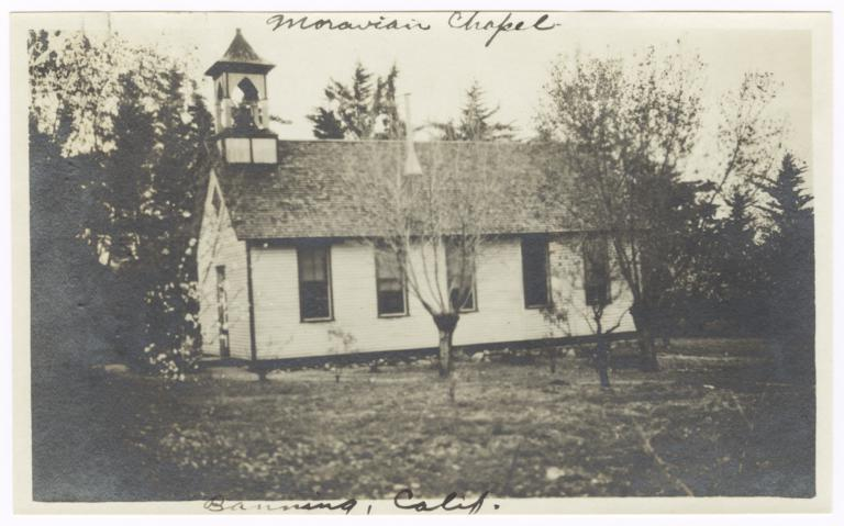 Moravian Chapel, Banning, California