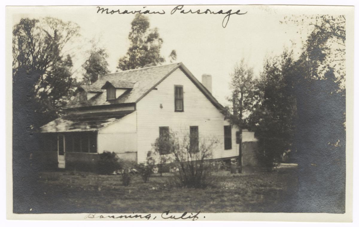 Moravian Parsonage, Banning, California