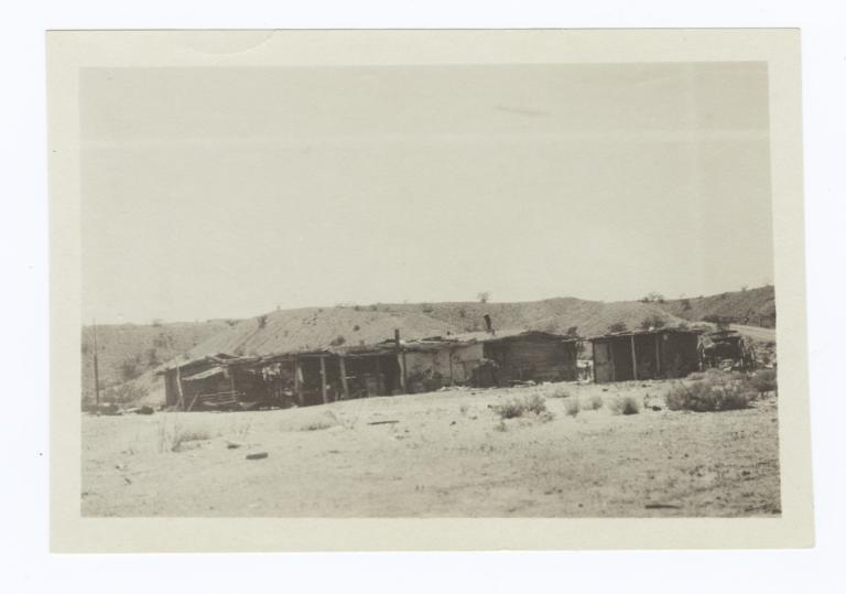 Indian Houses, East Side, Needles, California