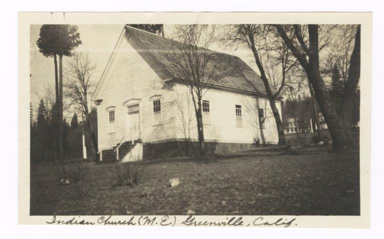 Methodist Episcopal Indian Church, Greenville, California