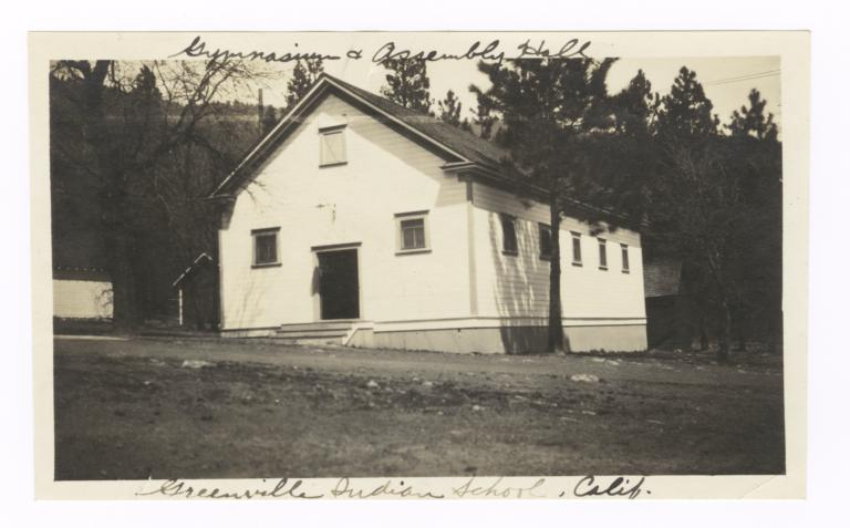 Greenville Indian School Gymnasium and Assembly Hall
