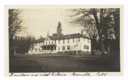 Dormitory and School Building, Indian School, Greenville, California