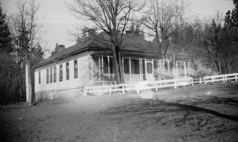 Hospital at U.S. Indian School, Greenville, California