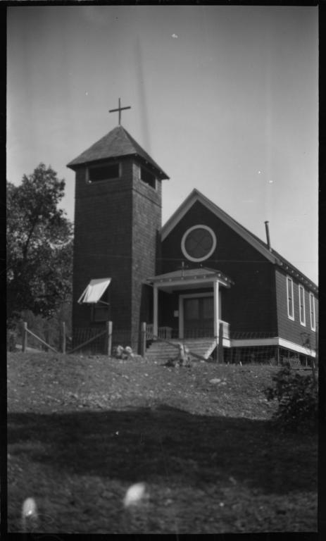 Church Building, Hoopa, California