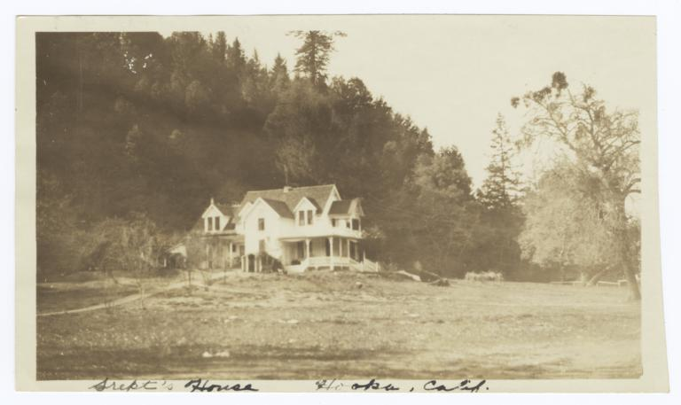 Superindent's  House, Hoopa, California