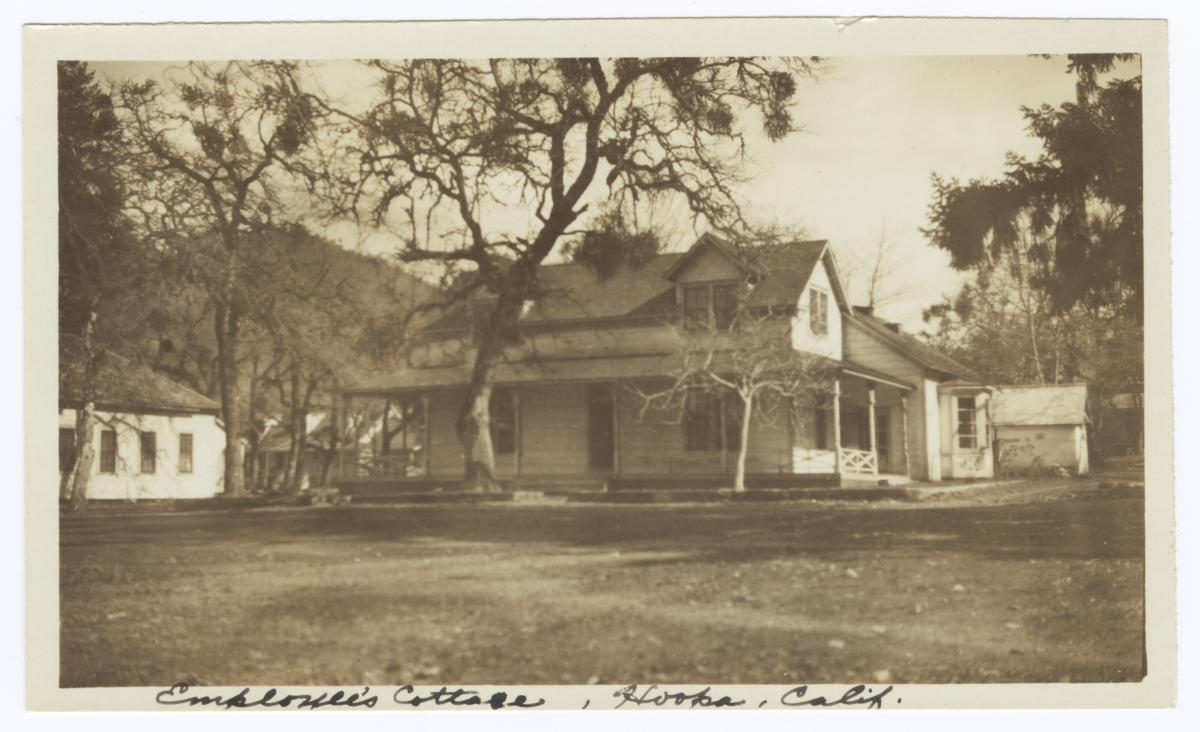Employee's Cottage, Hoopa, California