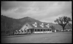 Girls' Dormitory, Hoopa, California