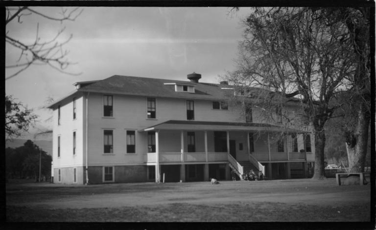 Boys' Dormitory, Hoopa, California