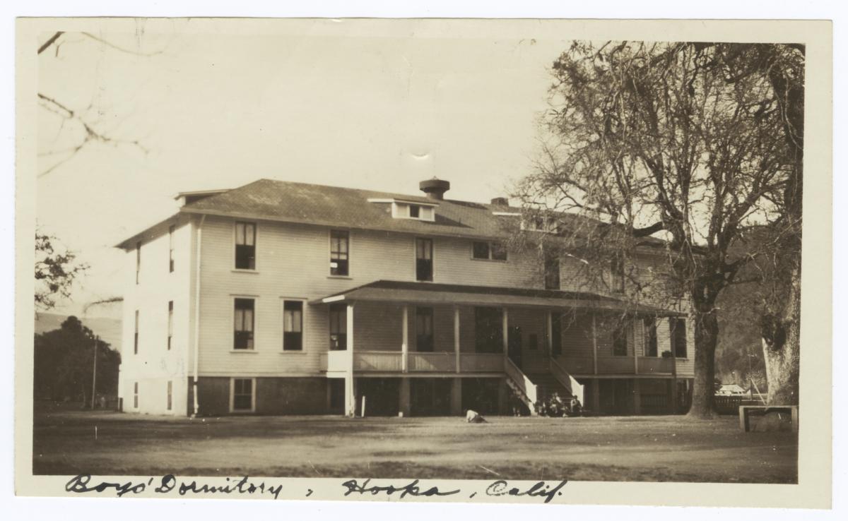 Boys' Dormitory, Hoopa, California