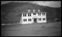School Building, Hoopa, California