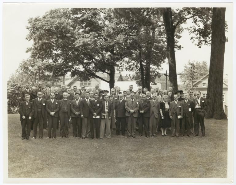 Delegates to the University of Toronto-Yale University Seminar-Conference