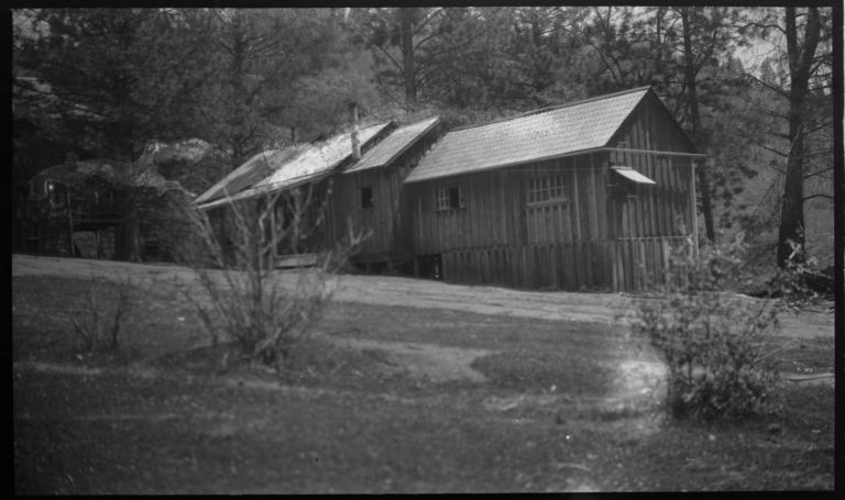 Dining Room and Kitchen of the Presbyterian Mission School, North Fork, California