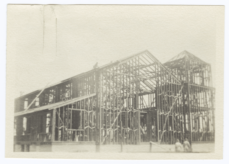Building Under Construction, Frame Work Almost Completed