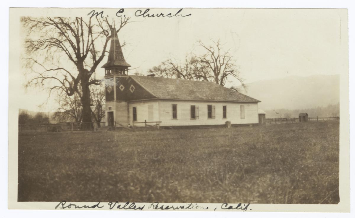 Methodist Episcopal Church, Round Valley Reservation, California