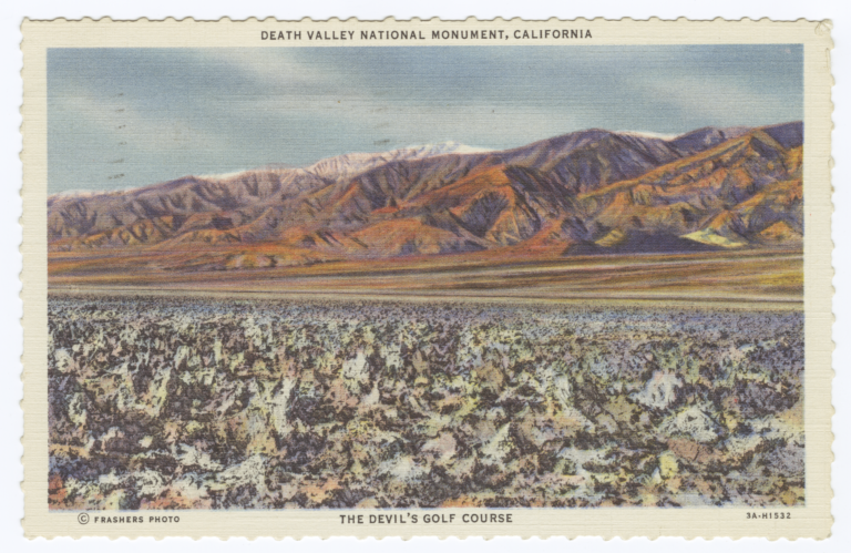 Death Valley National Monument, The Devil's Golf Course, California