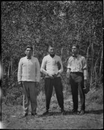 Group Portrait of Three Men