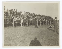 Grandstand Full of Spectators Watching an Event