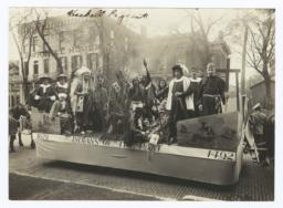 "Haskell Pageant Featuring a Float Titled, ""1620 - Indians of the Past -1492,"" Lawrence, Kansas"